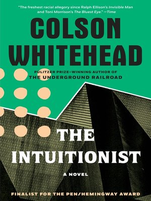 cover image of The Intuitionist